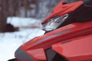 SkiDoo Snowmobile Photography