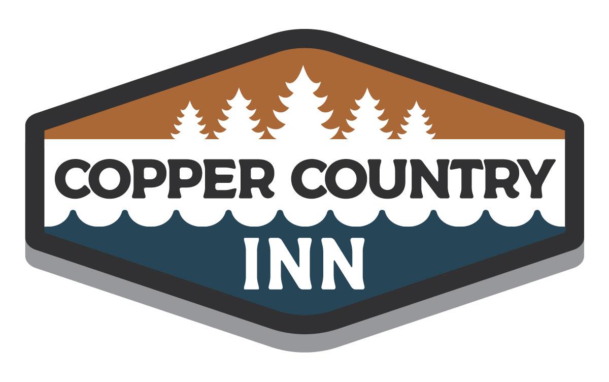 CopperCountryInn Logo Design Houghton Graphic Design Keweenaw Michigan