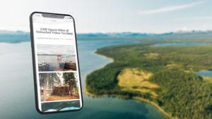 Outdoor Website Design by SmartCreative