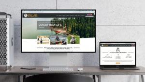 Wolf Lake Lodge Website Design Houghton Michigan