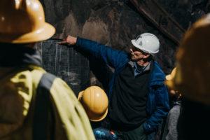 Underground Mine Tour at Quincy Mine