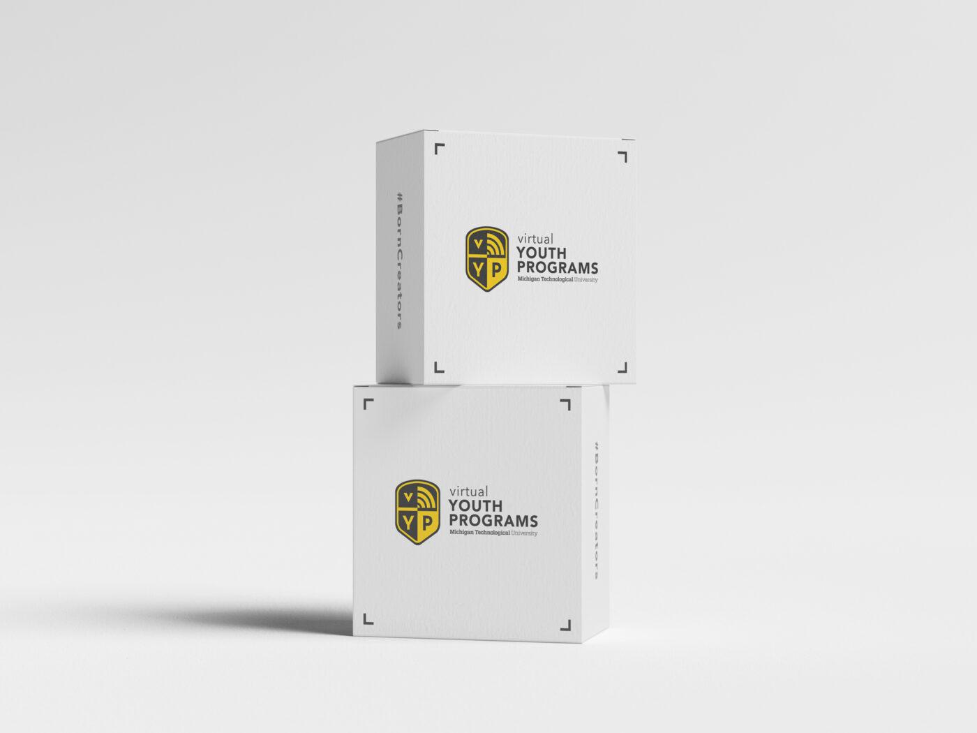 Packaging Design for Michigan Tech virtual Youth Programs