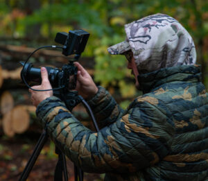 Videographer at our Outdoor Creative Agency