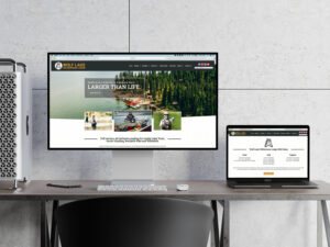 Website Design for a Fly In Fishing Lodge