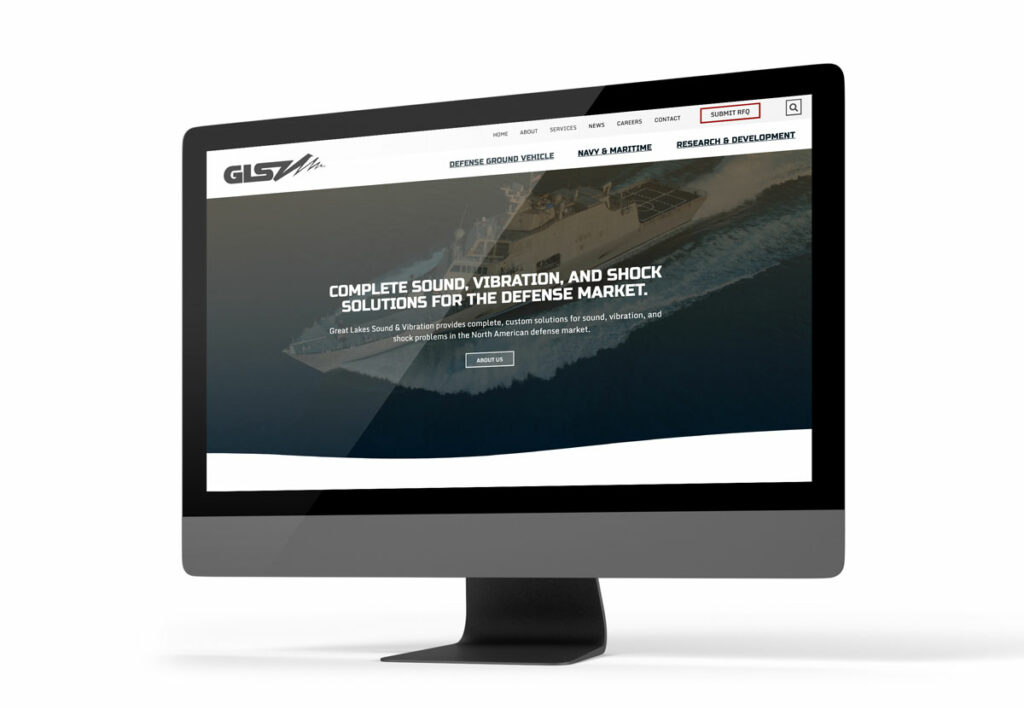 Website Design for GLSV