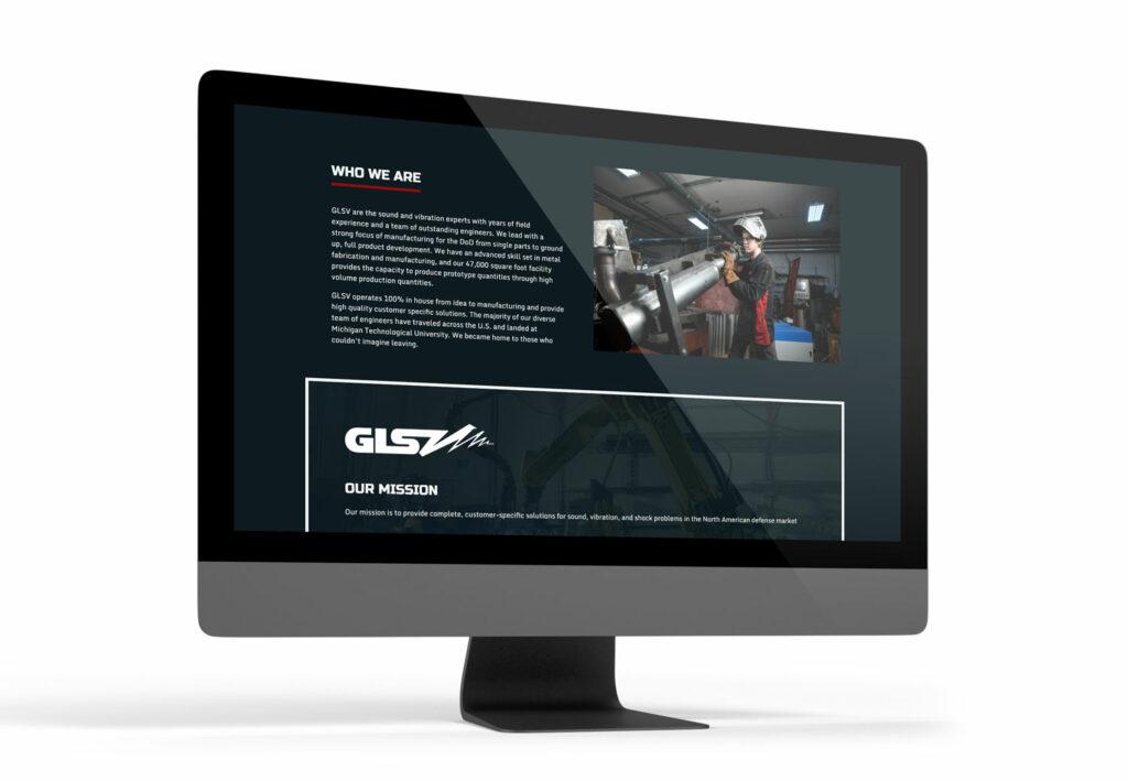 Website Design for Great Lakes Sound & Vibration