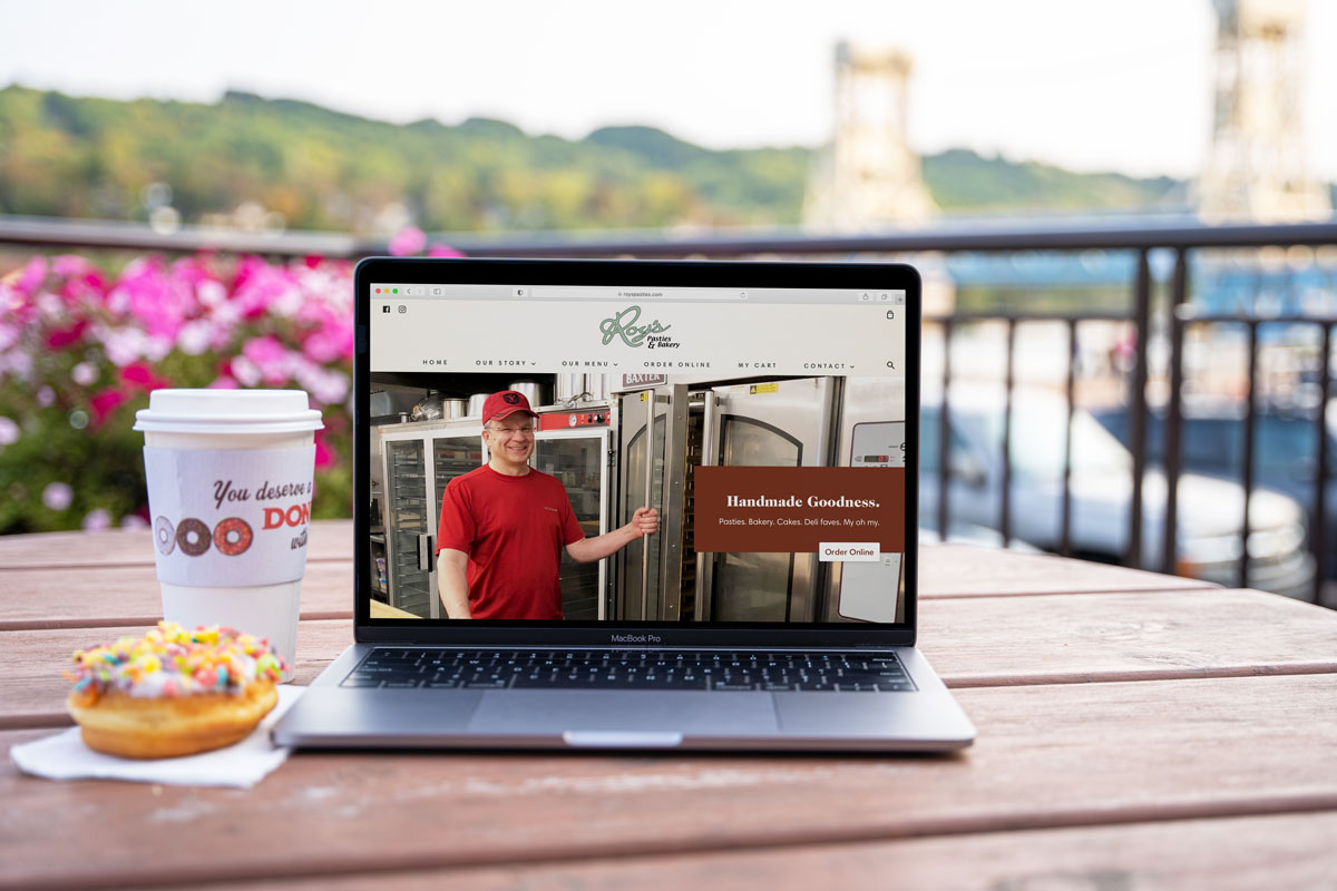 Ecommerce Website Development for Roy's Pasties and Bakery
