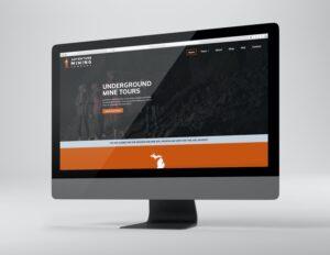 Underground Mine Tour Website Design